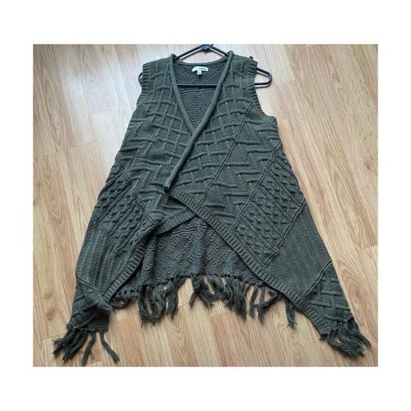 Sonoma Cable Knit Waterfall Cardigan